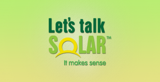 Logo for Lets Talk Solar