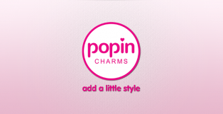Popin Charms Logo