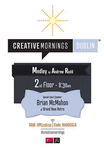 Creative Mornings: Poster One
